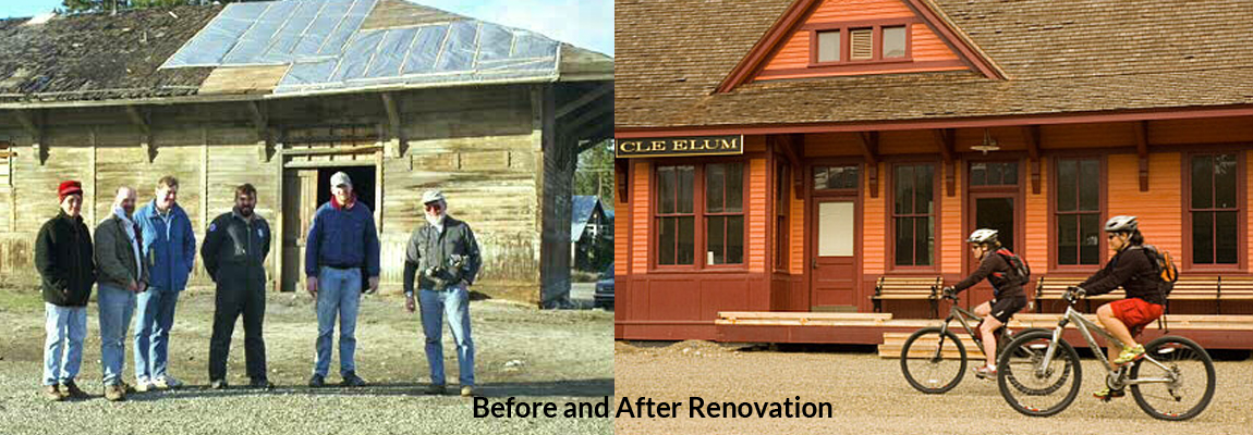 Before and After Renovation!