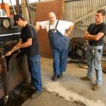 Matt Elems, Steve Habeck, and David Elems
