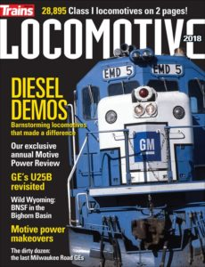 2018 Locomotive magazine cover