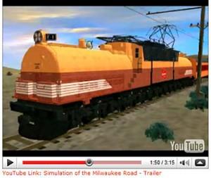 Screenshot of YouTube Sim video